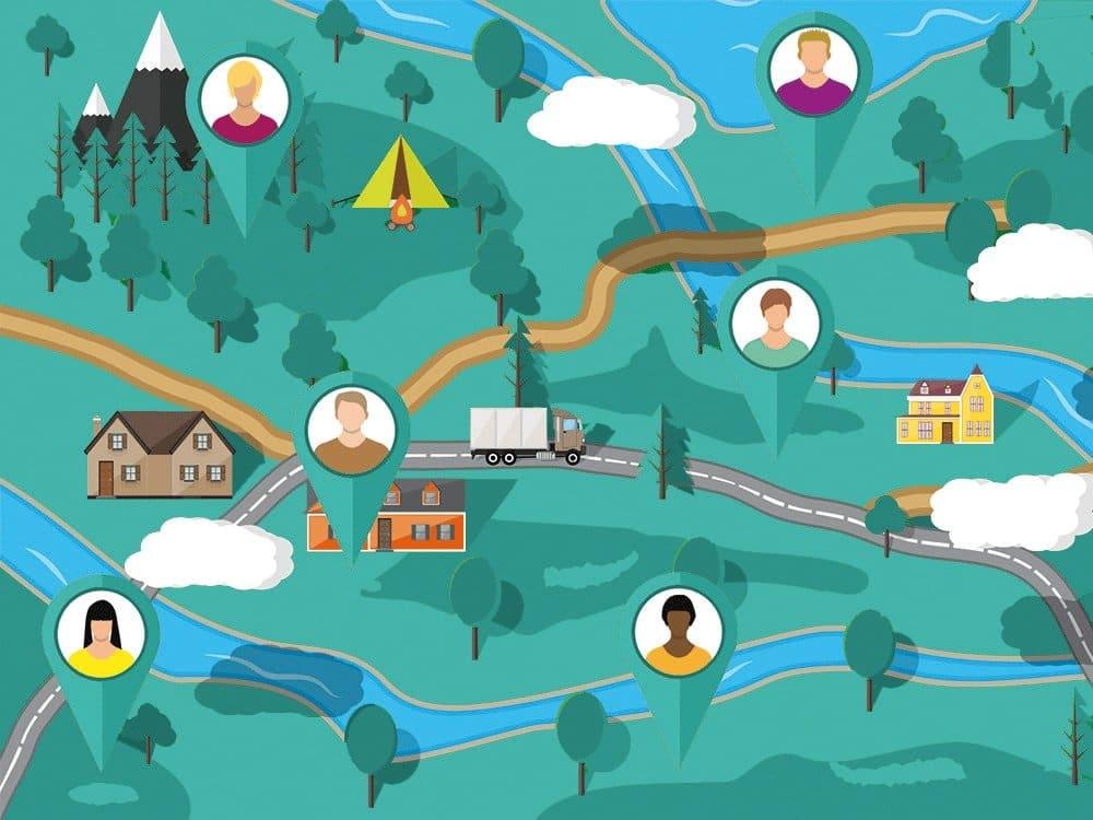 Personal in über 11.000 Orten auf der Karte