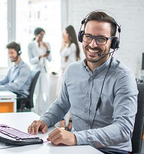 Call Center Personal buchen