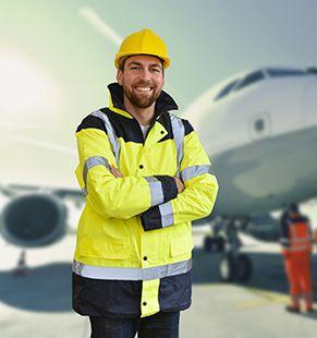Personal arbeitet im Verkehrswesen