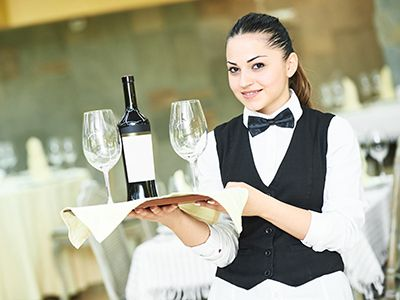 Catering-Hostessen buchen Level-1