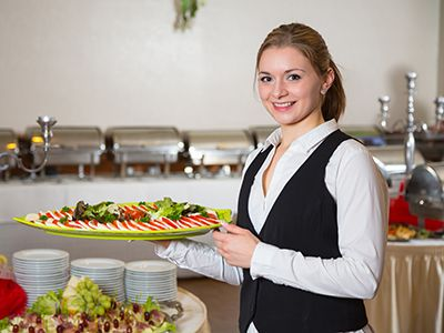 Catering-Hostessen buchen Level-4