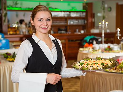Catering-Hostessen buchen Level-5