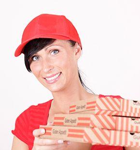 Lieferfahrer, Lieferanten, Pizzaboten und Lieferkuriere für Lieferungen, Verkauf, Handel, Einzelhandel und Großhandel finden und buchen