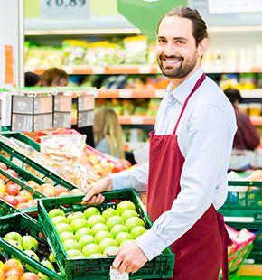 Warenverräumer für Verkauf, Handel, Einzelhandel und Großhandel finden und buchen