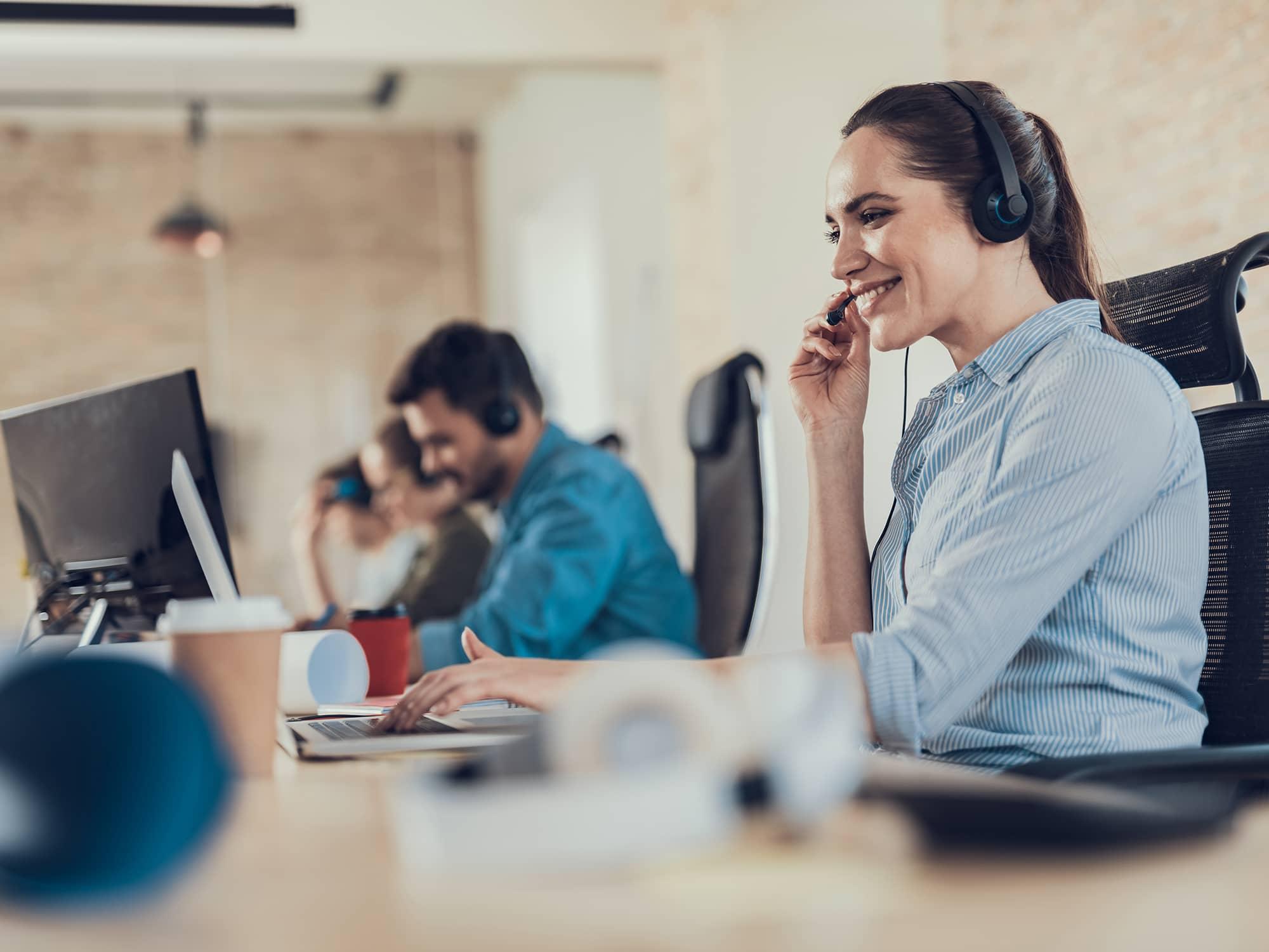 Callcenter Kundenservicekraft